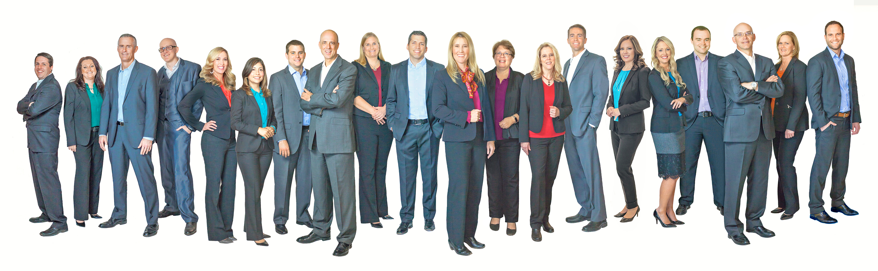 Stoker Ostler advisors standing as a group