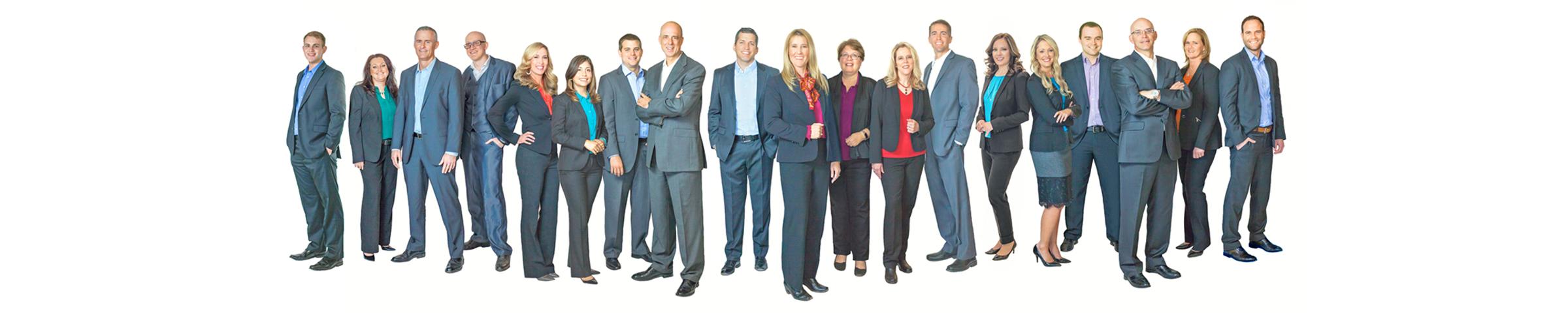Stoker Ostler advisors standing as a group